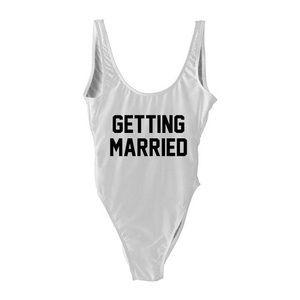 Getting married bathing suit